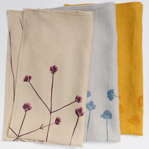 Tea Towel: Verbena in Wheat
