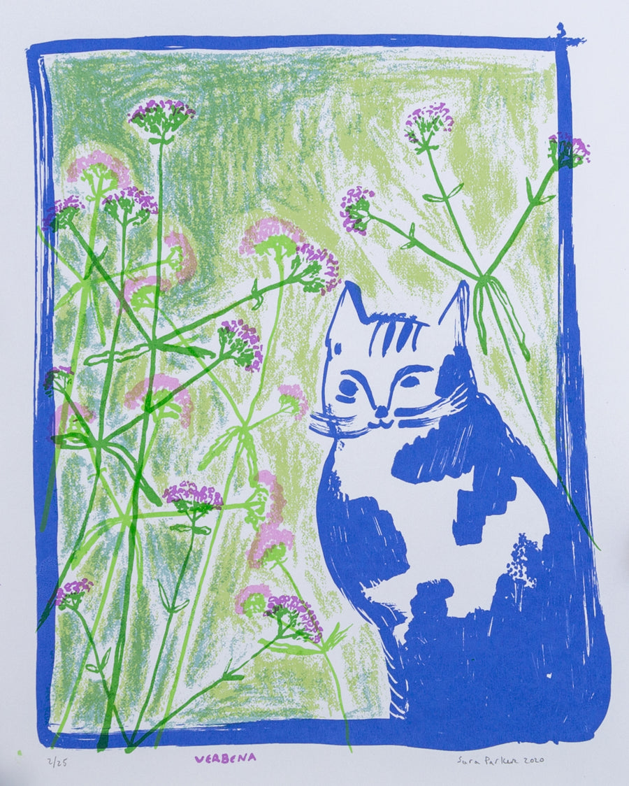 Screen Print - Verbena
