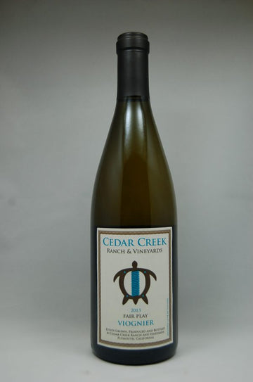 2017 Viognier-100% Estate Grown-NEW Release - Cedar Creek Ranch & Vineyards