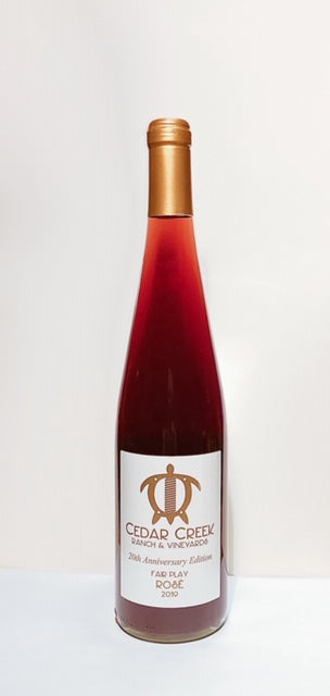 2019 Rosé 20th Anniversary Edition NEW RELEASE - Cedar Creek Ranch & Vineyards