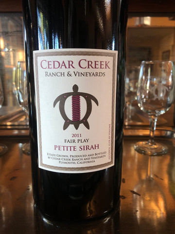 2011 Petite Sirah-Ranch Library Collection