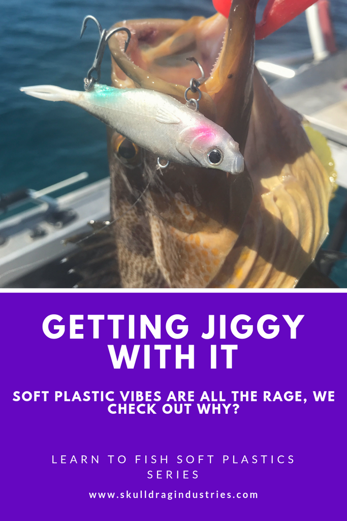 Getting Jiggy with it - Learn to fish soft plastics