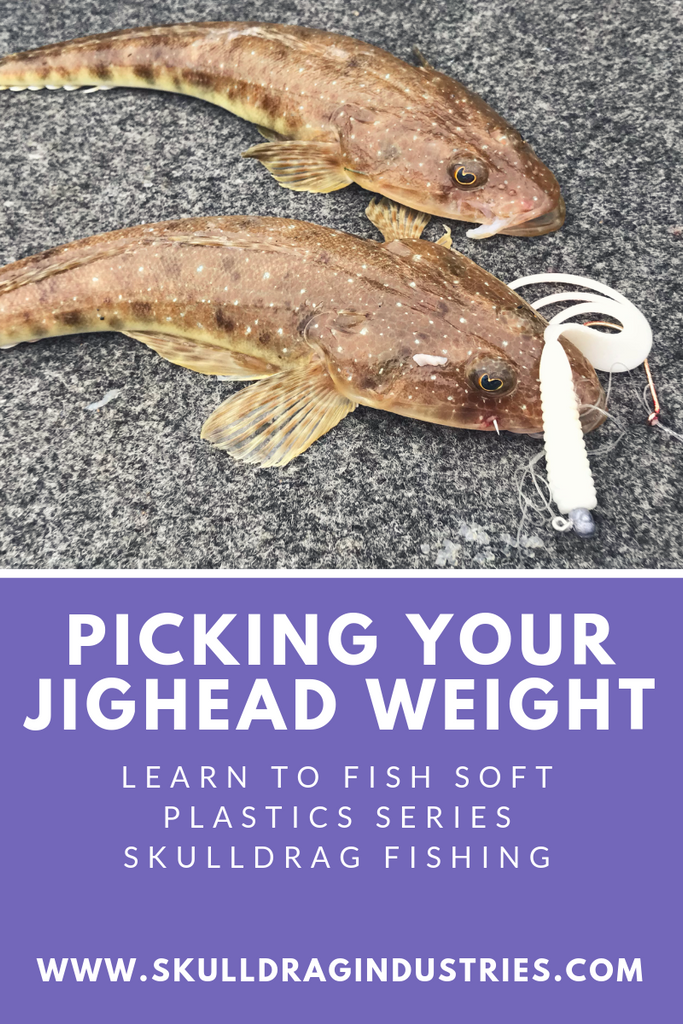 Picking your Jighead Weight - Learn to Fish Soft Plastics Series