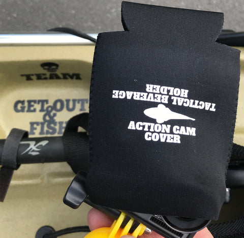 Action cam cover/tactical beverage holder