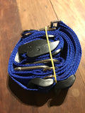 Electric Blue TraySafe T Double Trouble - Ute tray safety restraint- Secure both your dogs - Skulldrag Industries