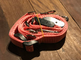 Pink TraySafe T Double Trouble - Ute tray safety restraint- Secure both your dogs to the Ute Tray - Skulldrag Industries