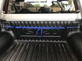 Electric Blue TraySafe T Lone Wolf -Ute tray dog safety restraint- Secure your dog to your Ute tray - Skulldrag Industries