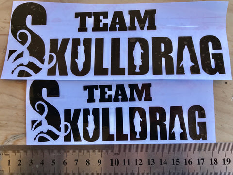 Team Skulldrag Stickers