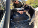 TraySafe T Lone Wolf-Ute tray dog safety restraint- Secure your dog to your Ute tray - Skulldrag Industries