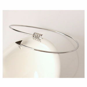 FREE Metal Punk Cuff Arrow Bangle Bracelet - FashionDone