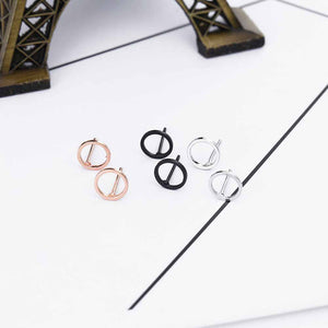 FREE Punk Rock Retro Circle Earring - FashionDone