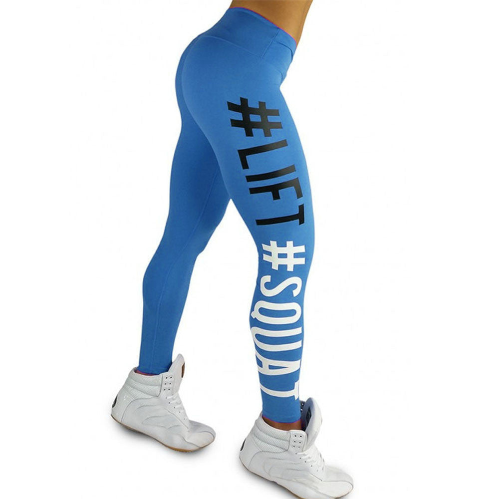 Women's Fashion Workout Leggings Fitness Sports Gym Running Yoga Athletic Pants - FashionDone