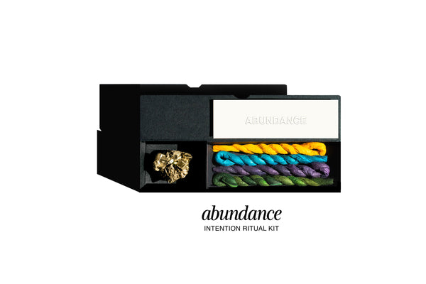 ABUNDANCE INTENTION RITUAL INCENSE KIT