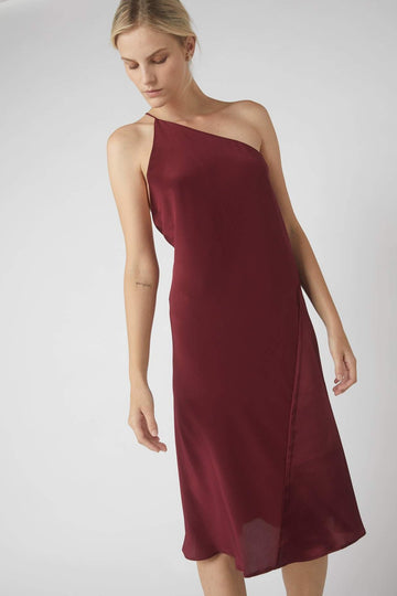 Duo One-Symmetrical Dress / Merlot