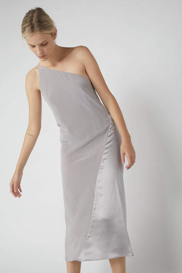 Duo One-Symmetrical Dress / Dove Grey