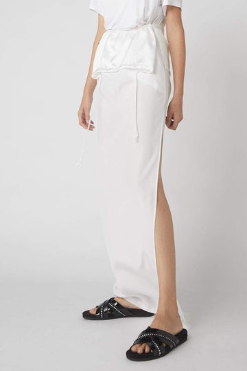 Duality Full Skirt / White