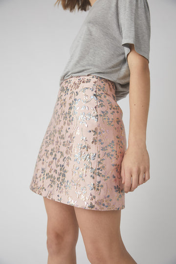Bloom Mini Skirt / Pink