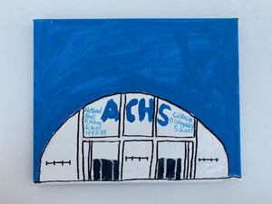 "Prints of ""Adolfo Camarillo High School (ACHS)"" by Lee Burke"
