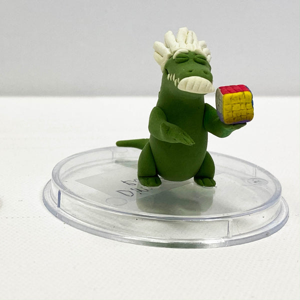 Alligator Einstein Figurine