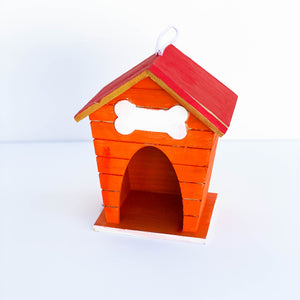 Orange & Gold Bird House