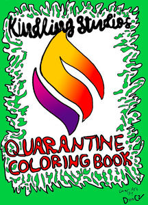 Quarantine Coloring Book