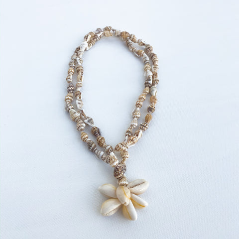 Seashell Necklace/Wrap Bracelet