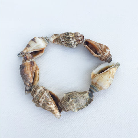 Conch Shell Stretch Bracelet
