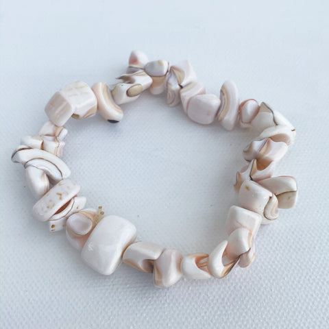 Small Stone Stretch Bracelet