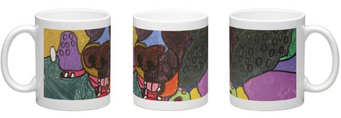 David Idell 'Doggy Nose' Mug