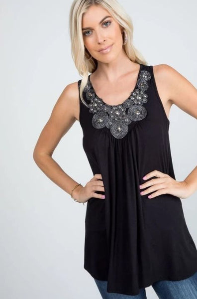 All That Jazz Tank Tunic