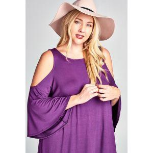 Southern Belle Top in Violet