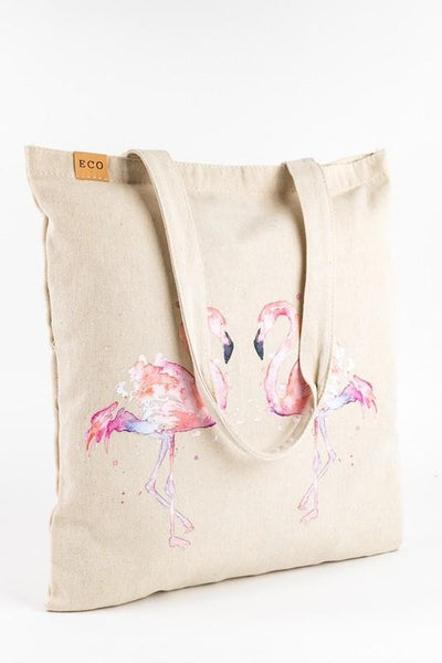 My Pink Flamingo Tote