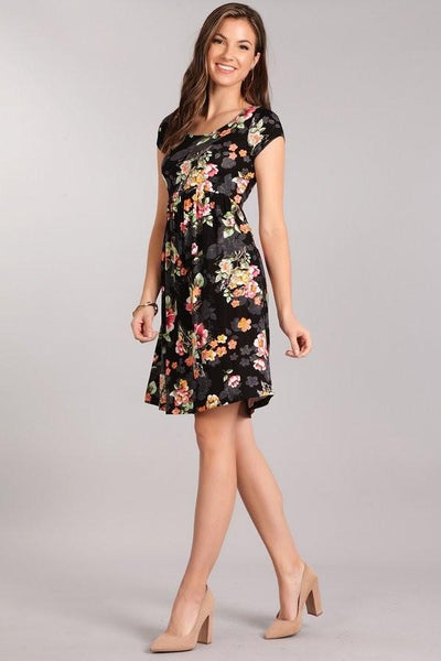 Dreaming in Floral Dress