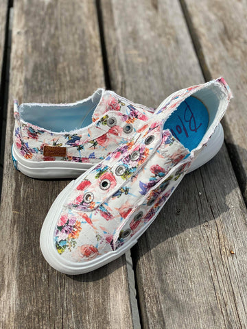 Floral Blowfish Sneakers