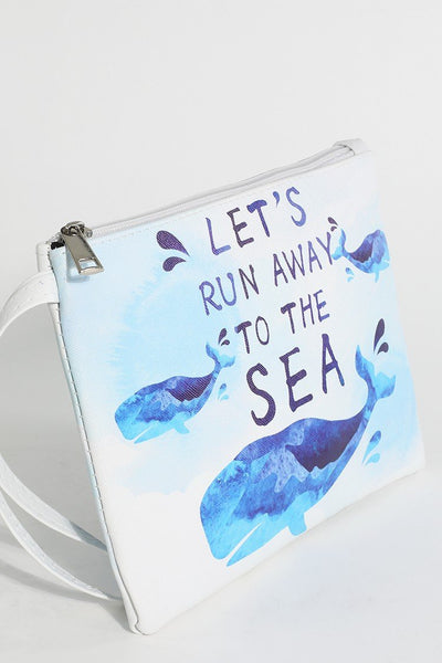 Let's Run  Away to the Sea Clutch