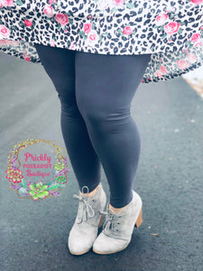 Leggings - Solid Grey