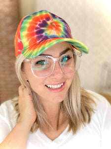 Shine Bright Tie Dye Hat