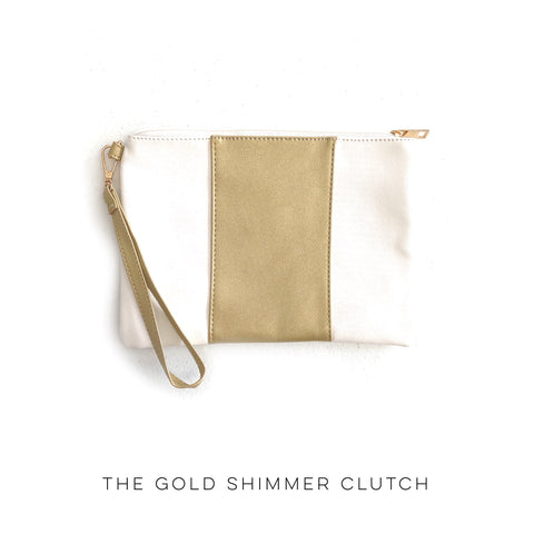 The Gold Shimmer Clutch
