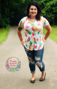 Fruit Criss Cross Shirt