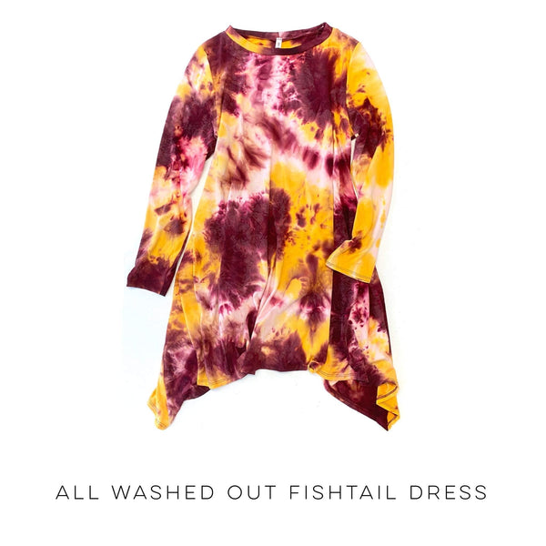 All Washed Out Fishtail Dress