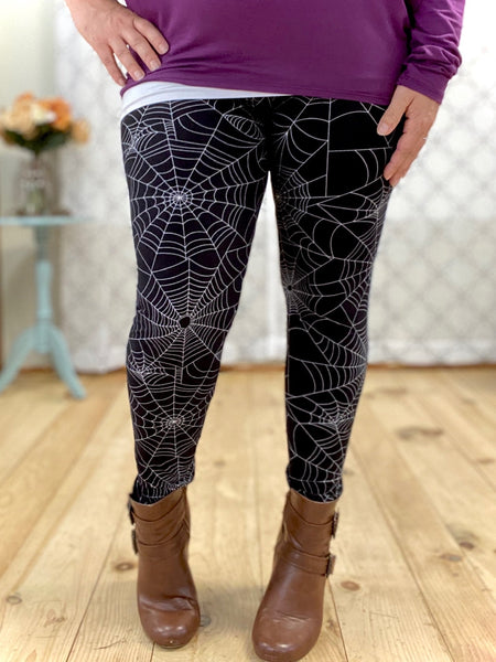 My Spooky Spiderweb Leggings