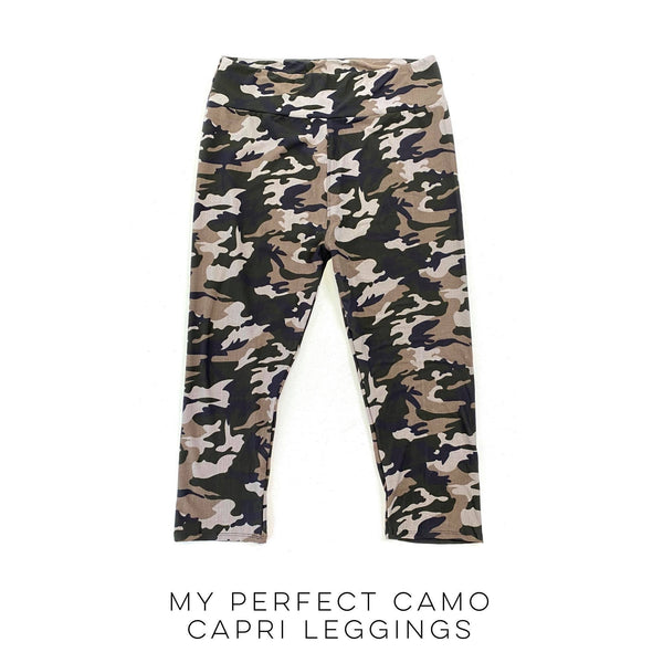 My Perfect Camo Capri Leggings