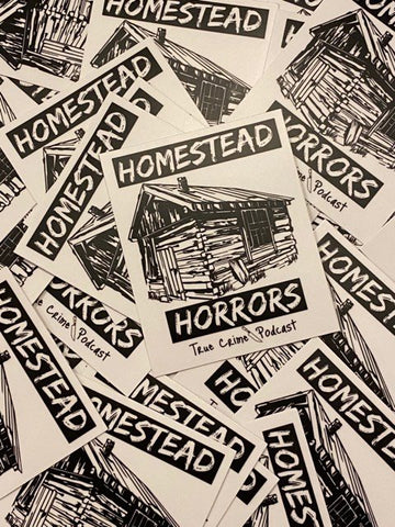 Homestead Horrors Stickers
