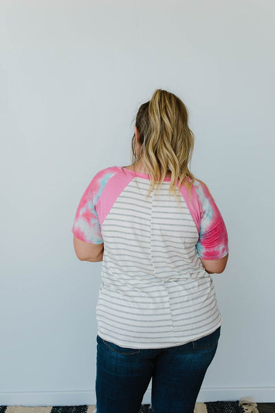 Summer Sun Raglan Top