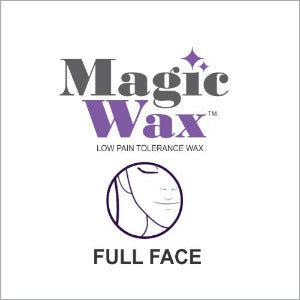 Magic Wax Hair Removal - Full Face Single Treatment