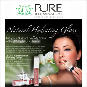 Pure Illumination Hydrating Lip Gloss