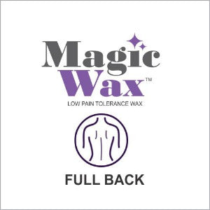 Magic Wax Hair Removal - Full Back Single Treatment