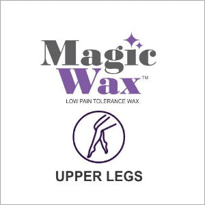 Magic Wax Hair Removal - Upper Legs Single Treatment