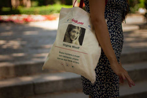 Tote bag Virginia Woolf