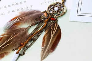 Feather Bojo Necklace